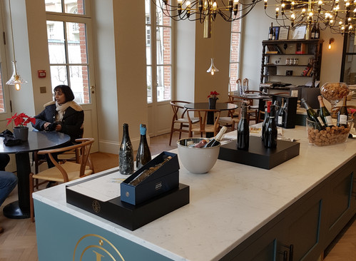 Tasting boutique Champagne Leclerc-Briant - Epernay
