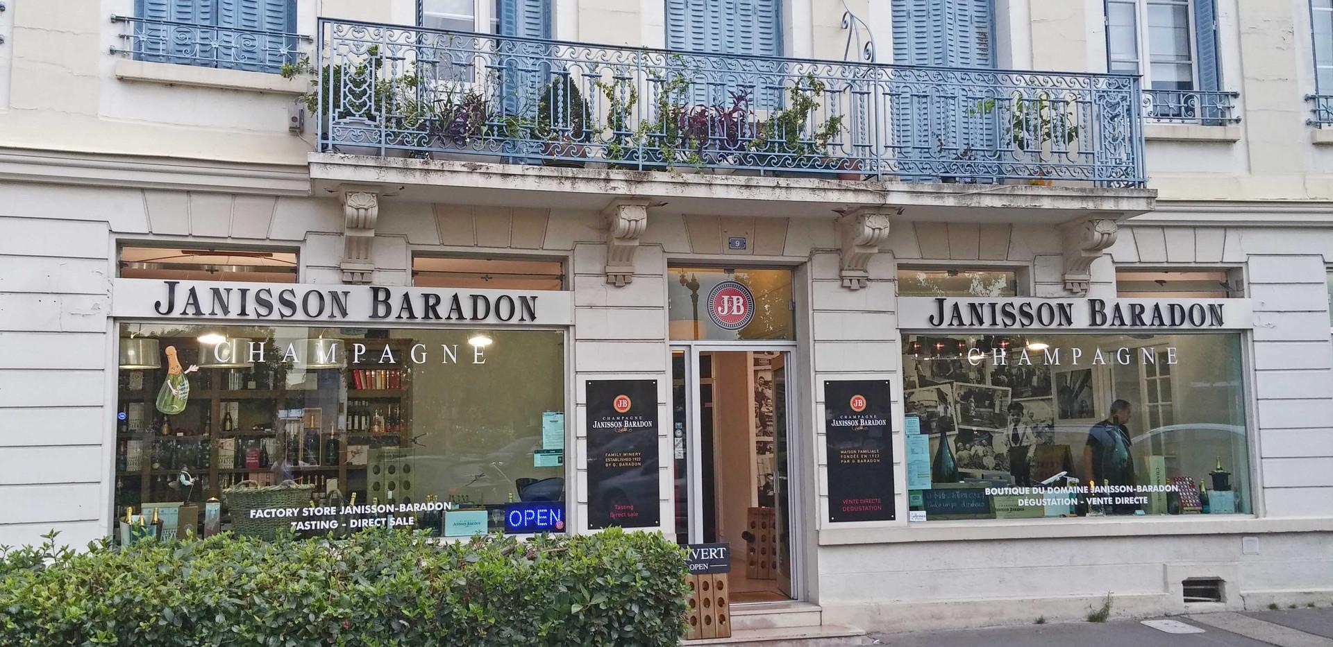 Boutique Champagne Janisson-Baradon - Epernay