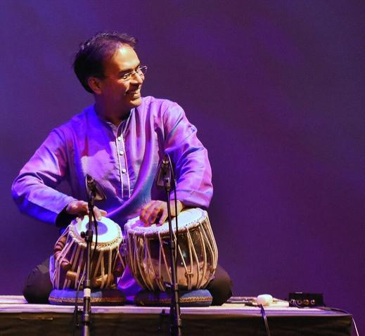 San Deep Das Performs on Tabla
