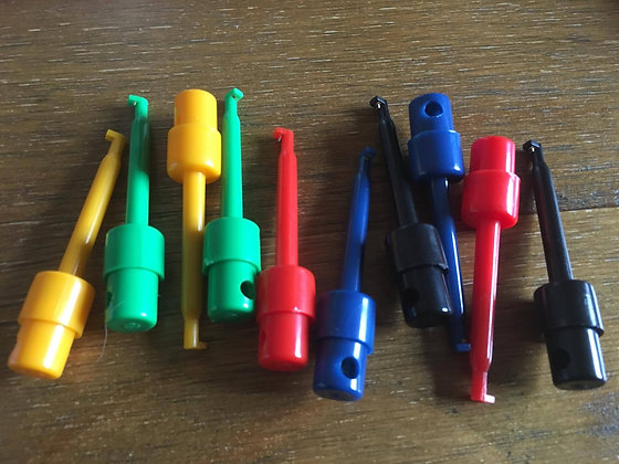 Coloured Fly Clips
