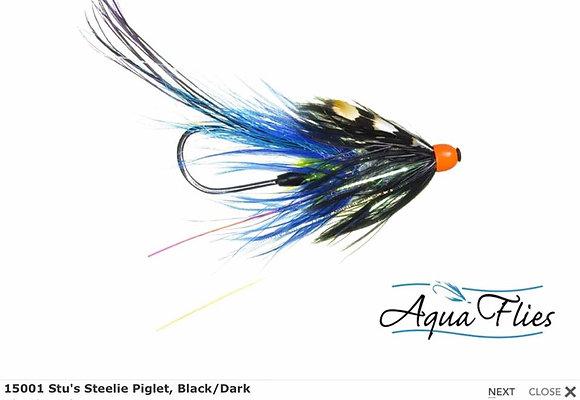 STU'S STEELIE PIGLET BLACK/BLUE