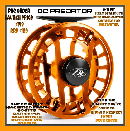 Deer Creek Predator reels