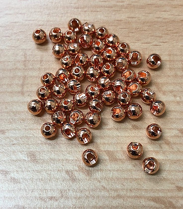 Deer Creek Tungsten beads copper slotted