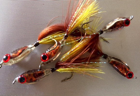 Resin minnow pin fry