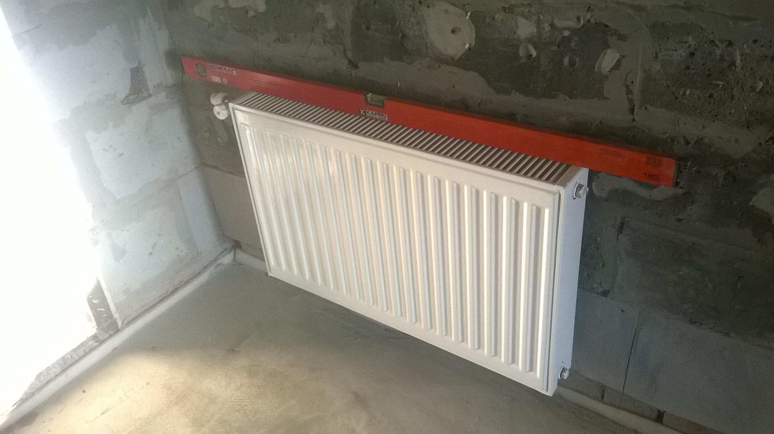 Стальной радиатор в частный дом