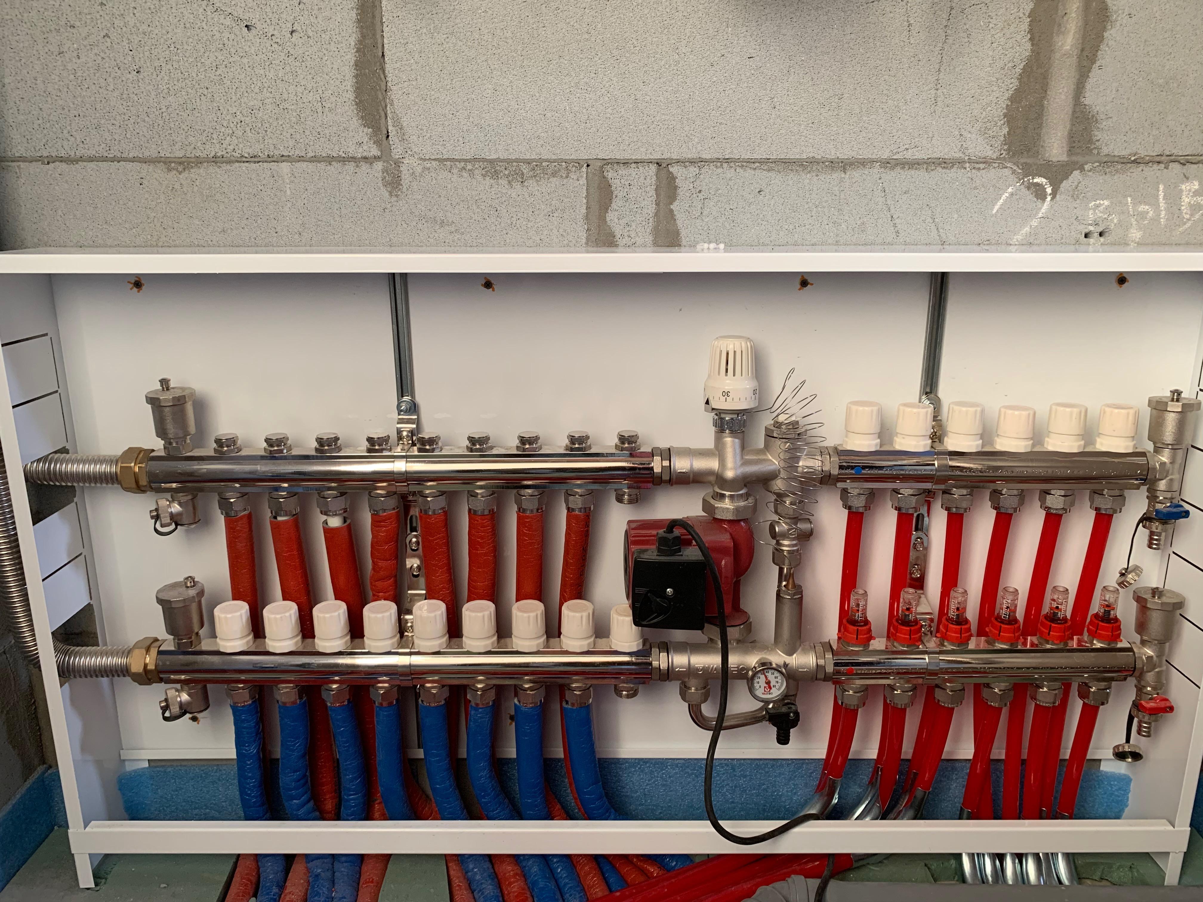 Коллектор ТП с радиаторами