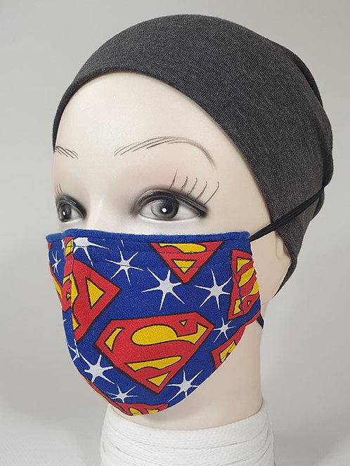 Superman Kids Face Mask