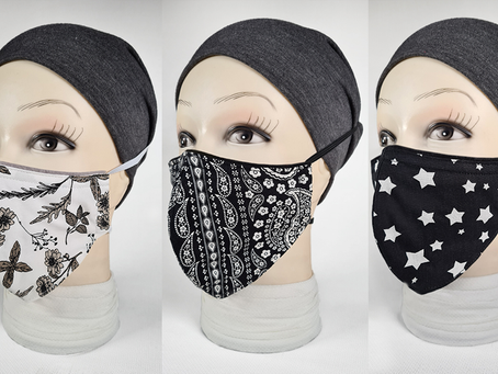 Our new range of designer masks!