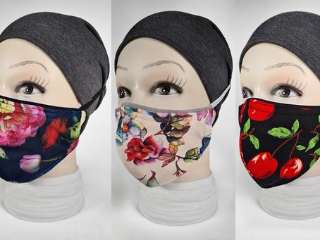 Our new range of SUMMER designer masks!