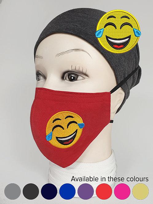 ''Funny'' Emoji Mood Mask