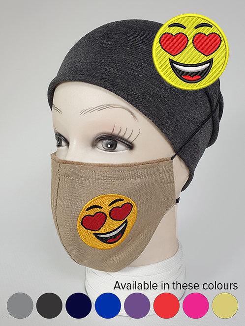 ''I love this'' Emoji Mood Mask