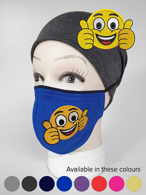 ''I like this'' Emoji Mood Mask