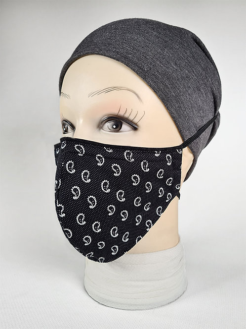 Small Paisley Designer Face Mask
