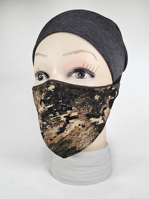 Urban Green Camo Face Mask