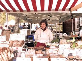 Marknadsstånd på Gammlia 2015