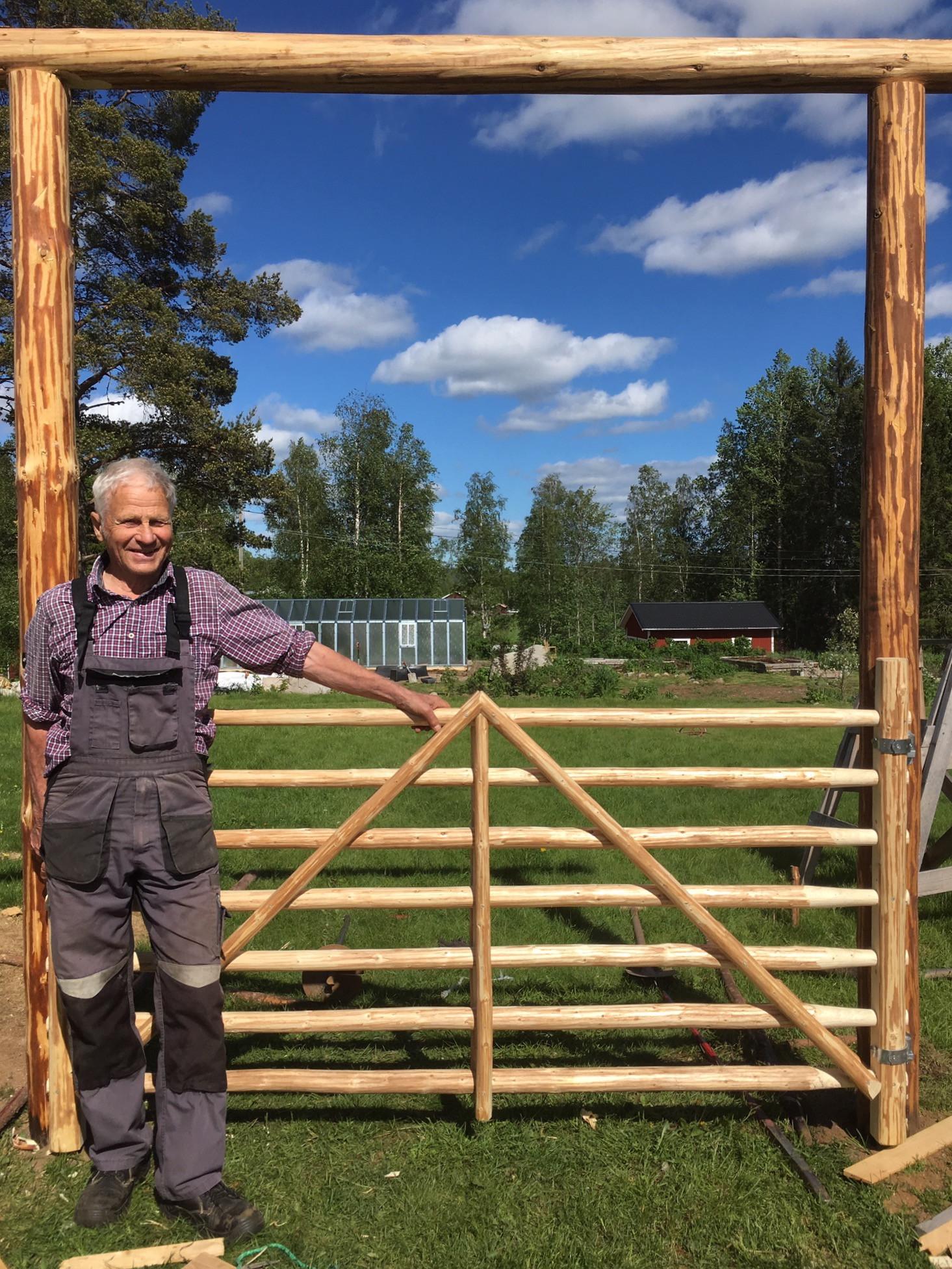 Gärdsgårdskurs med Eskil Johansson