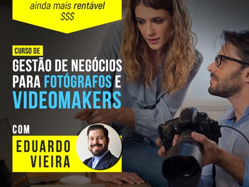 Gestão de Negócios para Fotógrafos e Videomakers