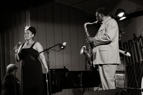 Kim Nalley with Houston Person at Monterey Jazz Festival