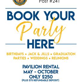 Party Venue Flyer