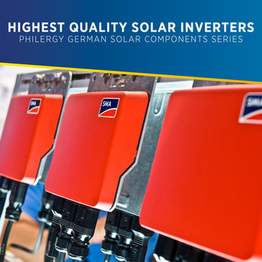 Highest Quality Solar Inverters for the Philippines - PHILERGY German Solar Components Series