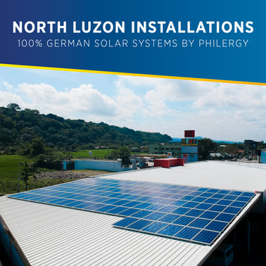 100% German Solar System Installations in North Luzon, Philippines - PHILERGY