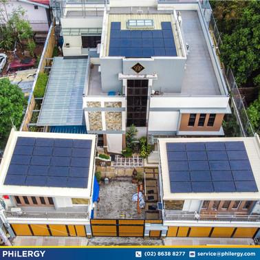60-panel grid-tied solar system in Quezon City - PHILERGY German Solar