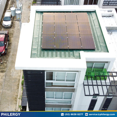 3.84 kWp grid-tied solar system in Kamuning, Quezon City - PHILERGY German Solar