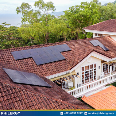31-panel grid-tied solar system in Mabini, Batangas - PHILERGY German Solar
