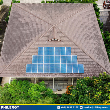 24-panel grid-tied solar system in Quezon City - PHILERGY German Solar