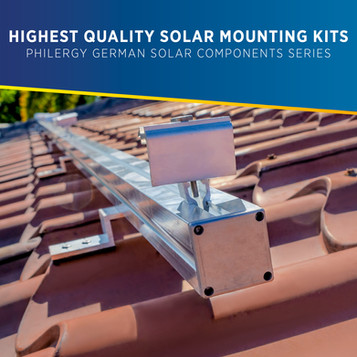 Highest Quality Solar Mounting Kits for the Philippines - PHILERGY German Solar Components Series