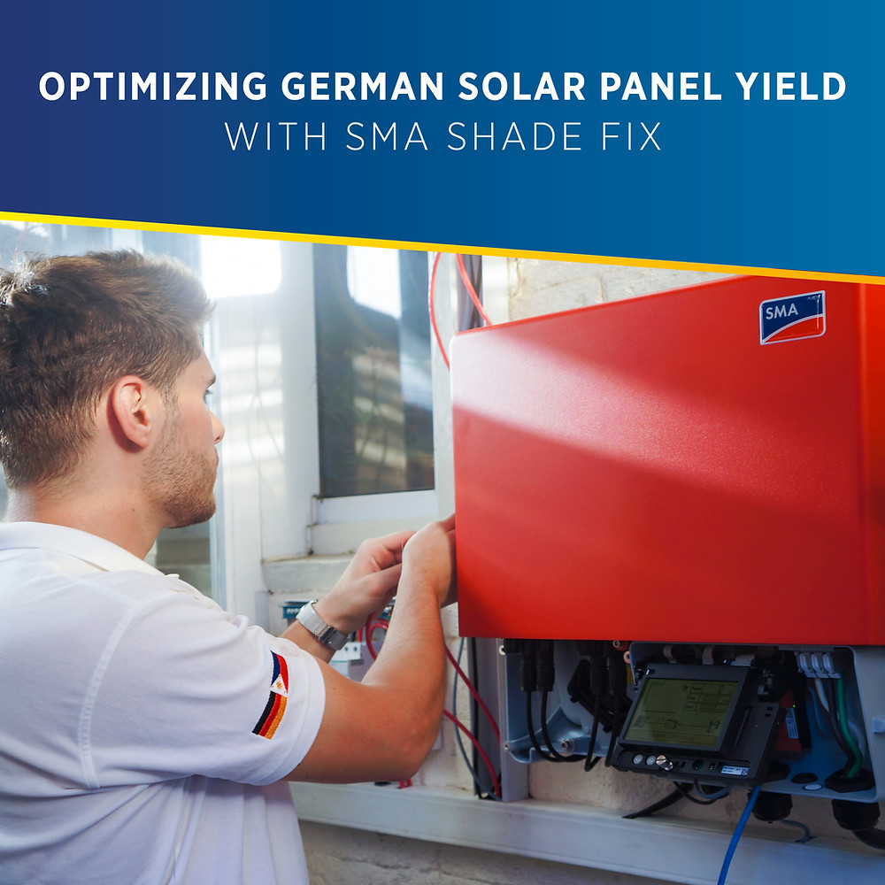 PHILERGY German Solar for homes and businesses - Optimized Yield with SMA ShadeFix - High quality installer for solar power systems and top rated panel packages for residential, commercial and industrial roofs in the Philippines