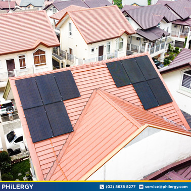 3.20 kWp grid-tied solar system in West Wing Villas, Quezon City - PHILERGY German Solar