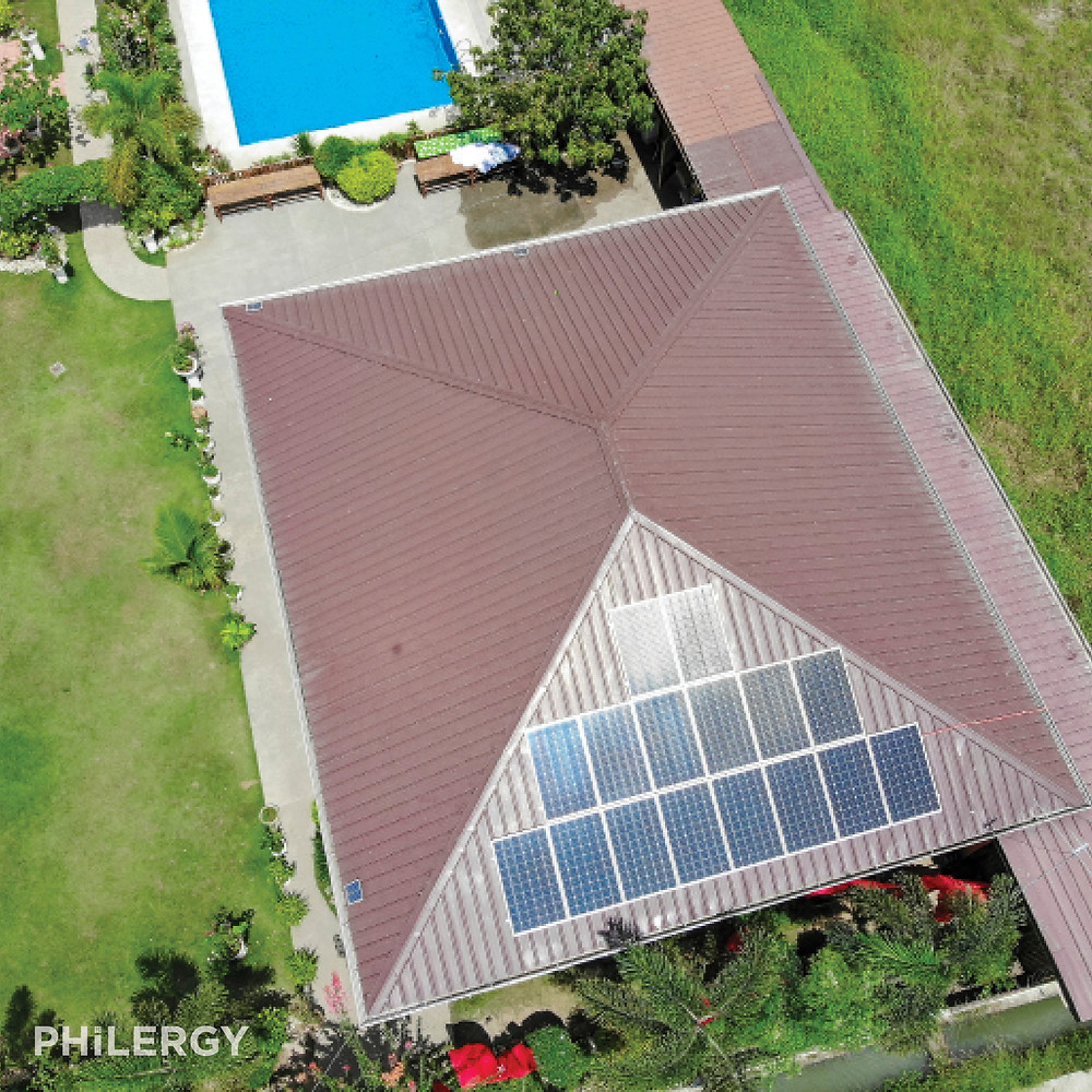 PHILERGY German Solar - 4.8 kwp for homes -  High quality solar panel packages and installations for residential and commercial rooftops in the Philippines
