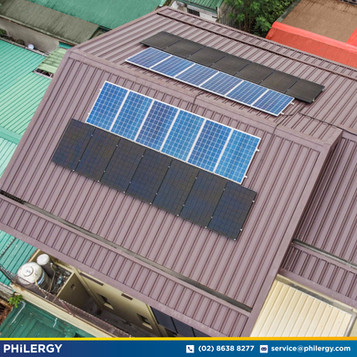 14-panel grid-tied solar system extension in Concepcion Dos, Marikina - PHILERGY German Solar