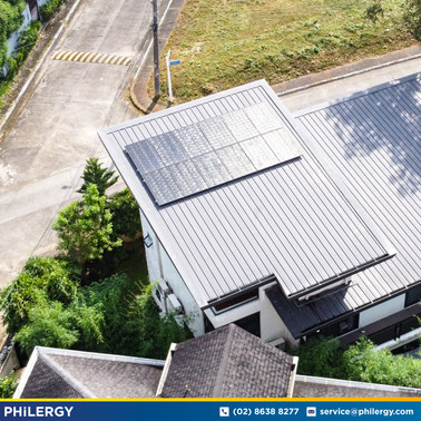 3.84 kWp grid-tied solar system in Don Jose Heights, Quezon City - PHILERGY German Solar