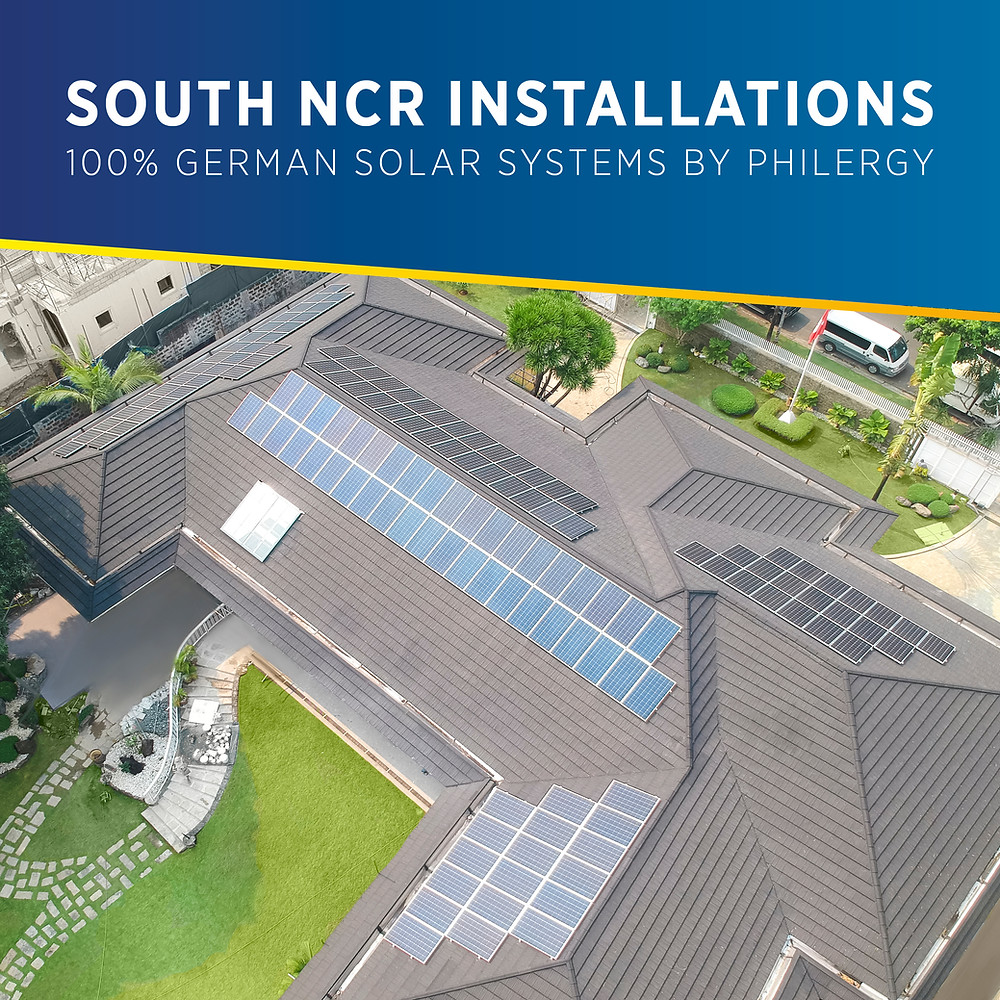 PHILERGY German Solar for homes and businesses in South Luzon - High quality installer for solar power systems and top rated panel packages for residential, commercial and industrial roofs in the Philippines