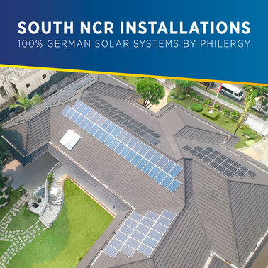 100% German Solar System Installations in South NCR, Philippines - PHILERGY