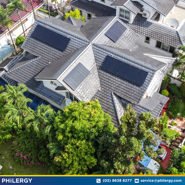 16-panel grid-tied solar system in Ayala Heights, Quezon City - PHILERGY German Solar