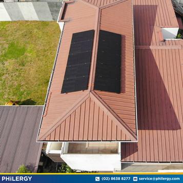 10-panel grid-tied solar system in Cainta, Rizal - PHILERGY German Solar