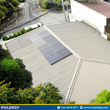 5.76 kWp grid-tied solar system in Loyola Heights, Quezon City - PHILERGY German Solar