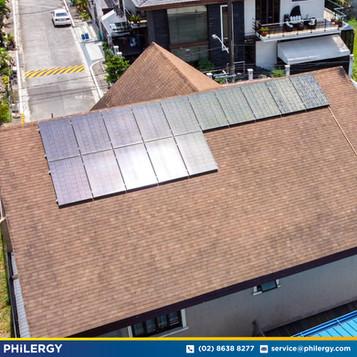 15-panel grid-tied solar system in Quezon City - PHILERGY German Solar