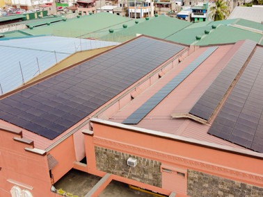 99 kWp grid-tied solar system in North EDSA, Caloocan City - PHILERGY German Solar