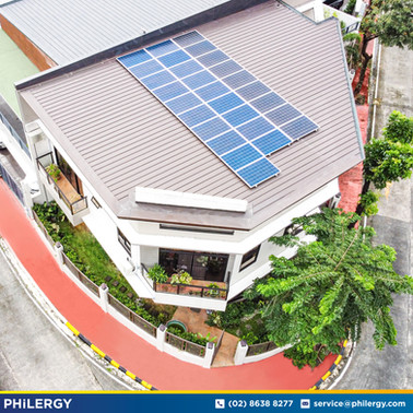 28-panel grid-tied solar system in Monte Vista, Marikina City - PHILERGY German Solar