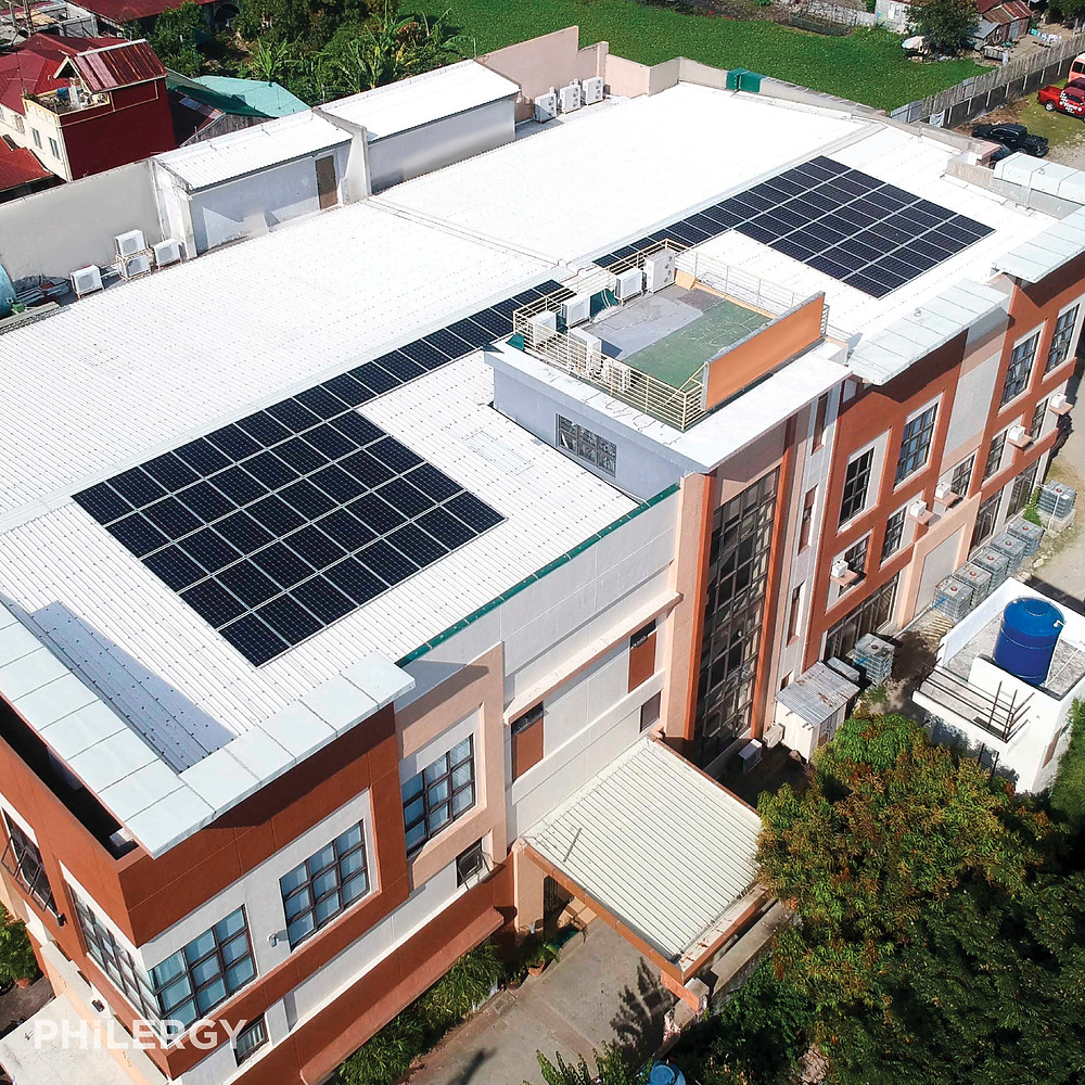 PHILERGY German Solar - 30 kwp for business -  High quality solar panel packages and installations for residential and commercial rooftops in the Philippines