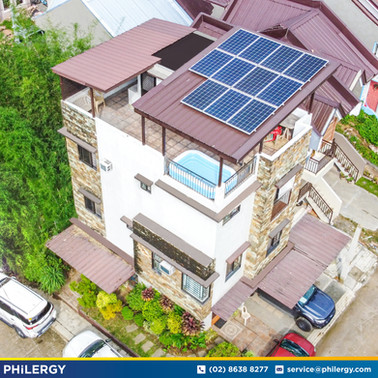 11-panel grid-tied solar system in Windsor Residences, Marikina City - PHILERGY German Solar
