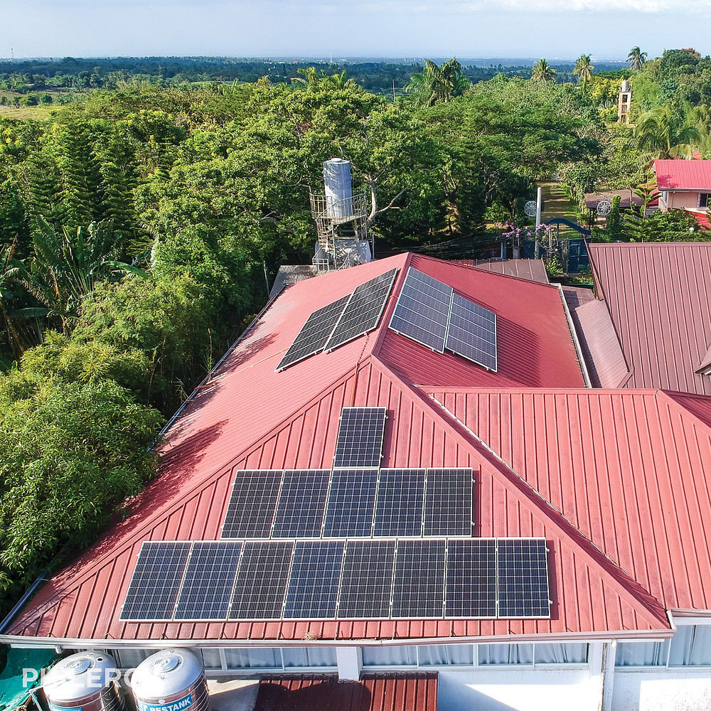 PHILERGY German Solar - 10.8 kwp for Tagaytay business -  High quality solar panel packages and installations for residential and commercial rooftops in the Philippines