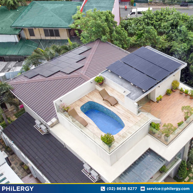 9.6 kWp grid-tied solar system in Congressional Village, Quezon City - PHILERGY German Solar