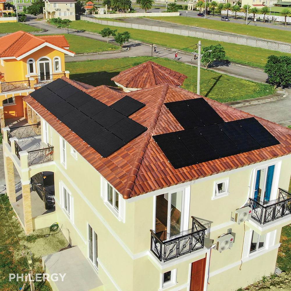 PHILERGY German Solar - 5.7 kwp for General Trias, Cavite home -  High quality solar panel packages and installations for residential and commercial rooftops in the Philippines