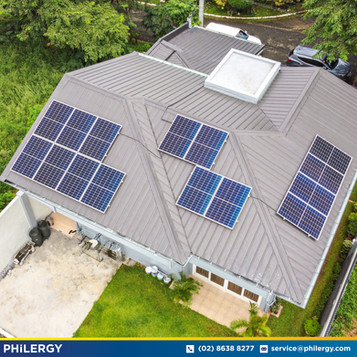 15-panel grid-tied solar system in Antipolo Valley, Antipolo City - PHILERGY German Solar