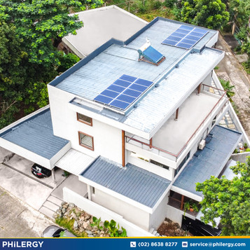 20-panel grid-tied solar system in Capitol Homes, Quezon City - PHILERGY German Solar